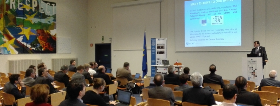 "Special Event on ""E-learning and MOOCs for nuclear education and training, preparing for ANNETTE"""